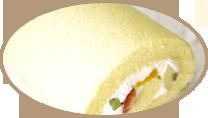 米粉100%ロールケーキ