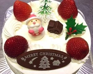 サフランクリスマスケーキIMG_0190